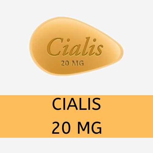 Cialis (Tadalafil) 20mg Pills