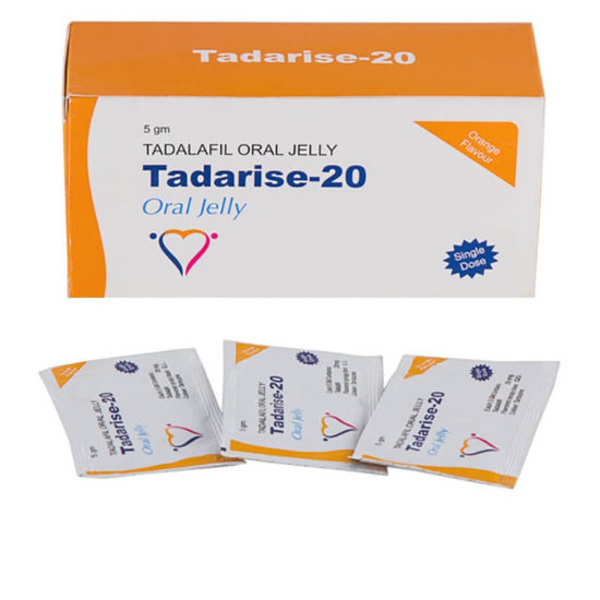 TADARISE Oral Jelly 20mg - For Extra Fun
