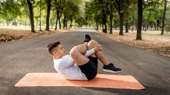 Exercise regularly for hard erection